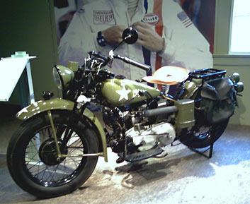 Indian WWII U.S. Military Model motorcycle