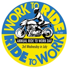 National Ride To Work Day for motorcyclists